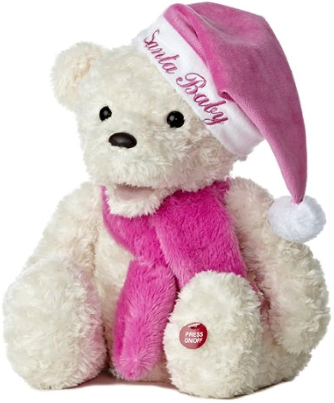 Aurora World Winter Wina Musical Bear Plush Toy, 15.5