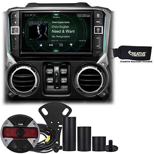 """Price comparison product image Alpine Restyle - i209-WRA 9"""" compatible with Apple CarPlay Radio,  Multimedia system & HCE-TCAM1-WRA Rear View Camera"""
