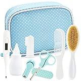 YELLODOOR - Kit de cuidado de la salud para el bebé con termómetro digital | Kit de cuidado del bebé de 13 piezas | Ideal para bebés recién nacidos