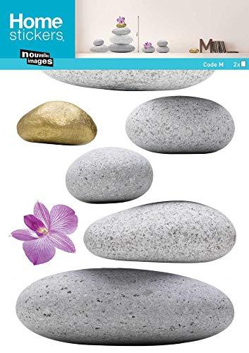 Wandtattoo Zen Steine - 50.5 x 70.5 cm | PostersDE