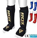 RDX Espinilleras Kick Boxing Boxeo MMA Protección Muay Thai Espinilla Empeine Shin Pads