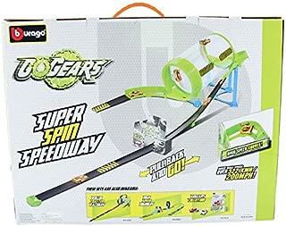 Bburago Go Gears Super Spin Speedway + 1Car - 4 Years & Above