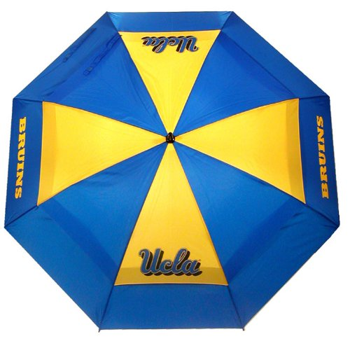 For Sale! Team Golf NCAA UCLA Bruins 62 Golf Umbrella with Protective Sheath, Double Canopy Wind Pr...