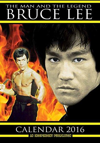 Bruce Lee Calendar - 2016 Wall Calendars - Celebrity Calendars - Monthly Wall Calendar by Dream International