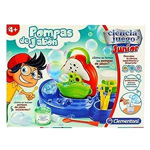 Clementoni- Pompas de Jabón, Multicolor (55216)