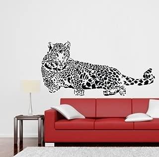 diy leopard print walls