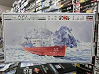 ハセガワ Z23 1/350 南極観測船 宗谷 第三次南極観測隊