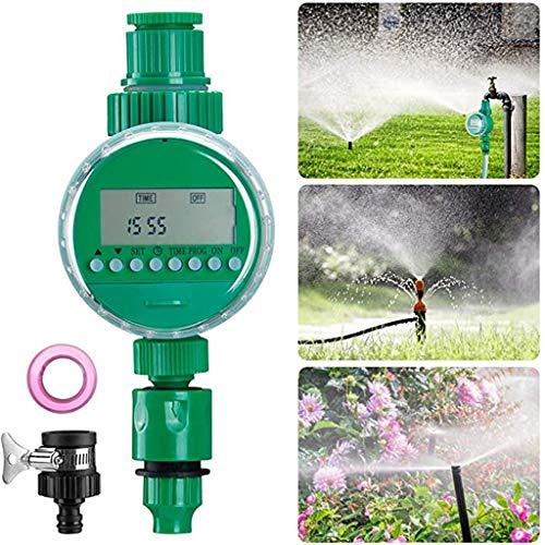 YFY Temporizador de riego, Temporizador de regado Temporizador eléctrico automático, Pantalla LED Impermeable, para Planta de jardín