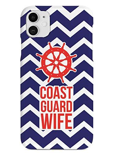 Coast Guard Wife Military Assorbimento degli Urti e Anti-Graffio iPhone 12/11 Pro Max 12 mini SE X/XS Max XR 8 7 6 6s Plus Custodie per Telefoni