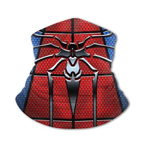 Kids Bandanas Spi-Derman Neck Gaiter Scarf Sun Uv Protection Face Mask Cover Boys Balaclava For Dust Outdoors Sports