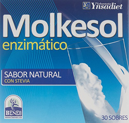 Ynsadiet Molkesol Natural Enzimático con Stevia - 30 Sobres