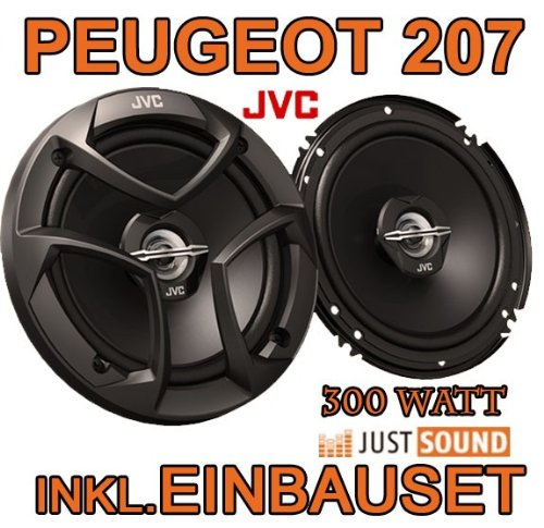 Lautsprecher - JVC CS-J620-16cm Koaxe für Peugeot 207 - JUST SOUND best choice for caraudio