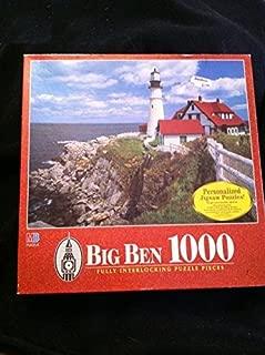 Vintage Big Ben 1000 Jigsaw Puzzle Cape Elizabeth Maine ME by MB