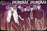 Cimily Duran Duran Poster Zinn Wand Zeichen Retro Kunst