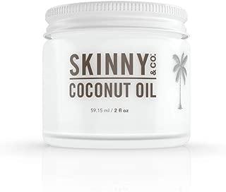 Skinny & Co. 2 Oz Raw Unrefined Alkaline Extra Virgin Coconut Oil