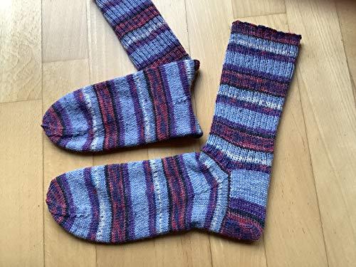 Socken handgestrickt Gr 38 39 40 Opal Wolle