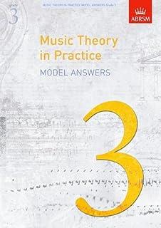 Abrsm music theory in practice: model answers - grade 3 livre sur la musique