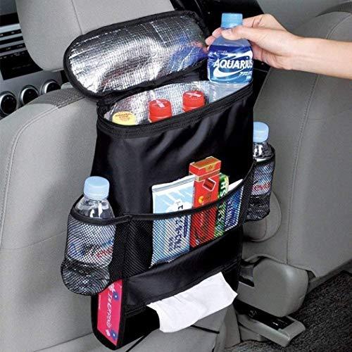 VISTANIA Siège de Voiture Dos Multi-Pocket Ice Pack Sac Suspendu Organisateur Collector Stockage