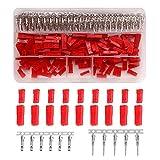 YIXISI 420pcs 70 Juegos JST SYP 2 Pines Rojo Juego de Conectores de terminales de crimpado Hembra y Macho