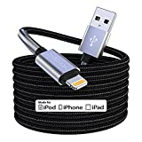 15 Ft Extra Long iPhone Charger Cord,[Apple MFi Certified] Cabepow iPhone Charging Cable, Nylon...