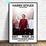 MHHDD Harry Styles Poster World Tour Live Cover Geschichte