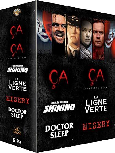 Stephen King-Coffret Ça-Chapitre Deux + Shining + La Ligne Verte + Doctor Sleep + Misery