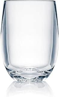 Strahl 408403 Stemless Osteria Wine Glass, 13 oz. Set of 12