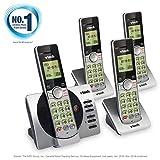 VTech DECT 6.0 Four Handset Cordless Phones with ITAD, CID, Backlit Keypads
