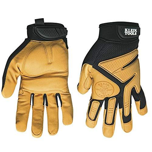 Klein Tools Journeyman Leder Handschuhe, 40222