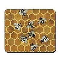 Honey Beesノンスリップラバーマウスパッド、ゲーミングマウスパッド