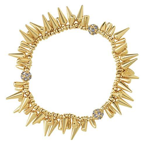 Stella & Dot Renegade Cluster Bracelet Gold B164G