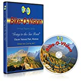 Bike-O-Vision Cycling Video- Going to the Sun Rd, Glacier National Park, Montana (BR #47) [Blu-ray]