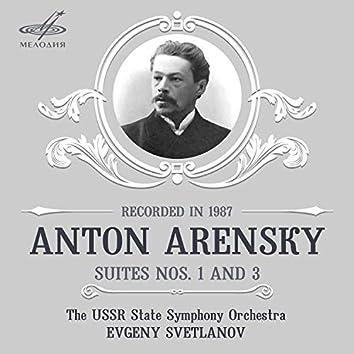 Arensky: Suites Nos. 1, 3
