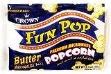 ファンポップ ポップコーン バター風味 99g