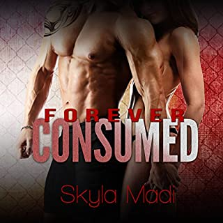 Forever Consumed audiobook cover art