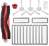 Supon Accesorios para Robot Aspirador Xiaomi, Piezas de Repuesto Xiaomi con Robot de Repuesto Roborock 2 S50 S55 para Robot Aspirador (XM-4601)