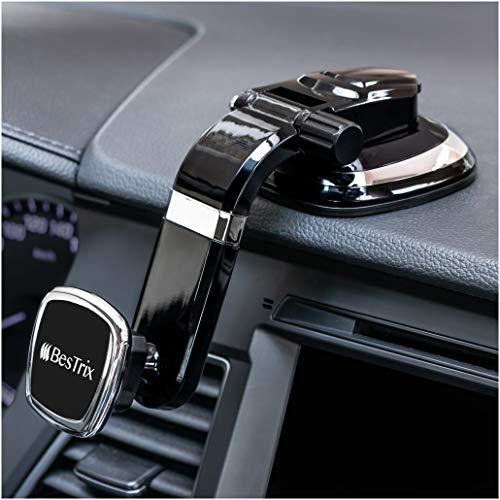New Version - Bestrix Magnetic Dashboard Cell Phone Car Mount Holder, Smartphone...