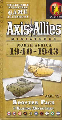 Wizards of the Coast Axis & Allies Miniatures: North Africa 1940-1943: an Axis & Allies Miniatures Expansion