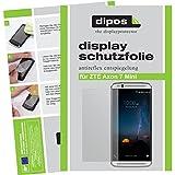 dipos I 2X Schutzfolie matt kompatibel mit ZTE Axon 7 Mini Folie Bildschirmschutzfolie