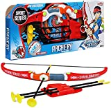 koolbitz Children Outdoor Play Larger Archery Bow Arrow Set for with 3 Suction Cup Arrows Gift set X-mas Gift For Kids