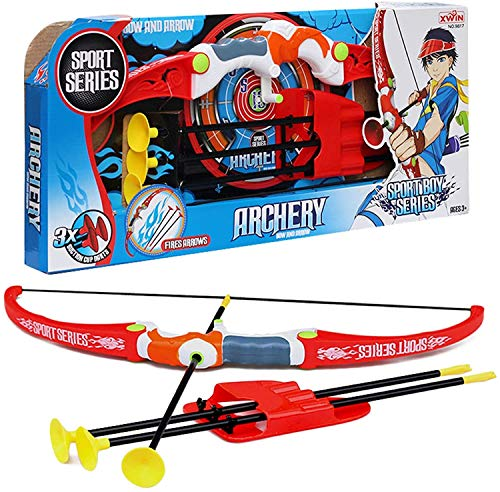 koolbitz Children Outdoor Play Larger Archery Bow Arrow Set for with 3...