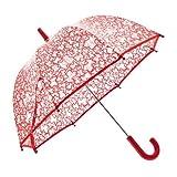 TOUS BABY - Paraguas infantil transparente estampado Kaos. Color Rojo