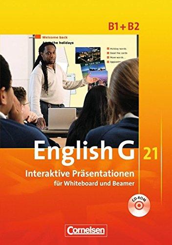 English G 21 - Materialien für Whiteboard und Beamer - Ausgabe B: Band 1/2: 5./6. Schuljahr - Interaktive Präsentationen für Whiteboard und Beamer: CD-ROM
