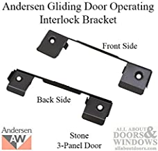 Andersen Window - Perma-Shield Gliding Door - 3 Panel Operating Interlock Bracket 1978-1982
