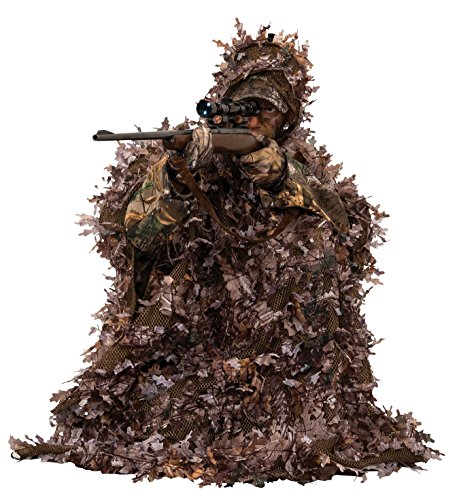 Ameristep 3D Leafy Poncho, Realtree Max 4 Camouflage