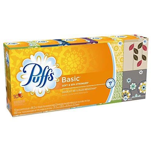 Puffs Facial Tissue - 10pk