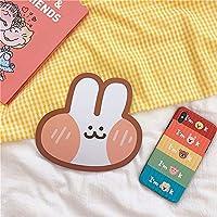 人格クリエイティブミニコンピューターマウスパッドかわいいスマイリークラウドアボカドマウスパッド小 かわいいうさぎ