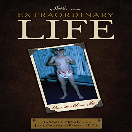 It's an Extraordinary Life audiobook cover art