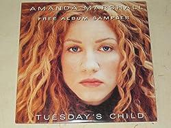 Amanda Marshall - Tuesday's Child - CD - PROMOTIONAL ITEM - 5099700786517