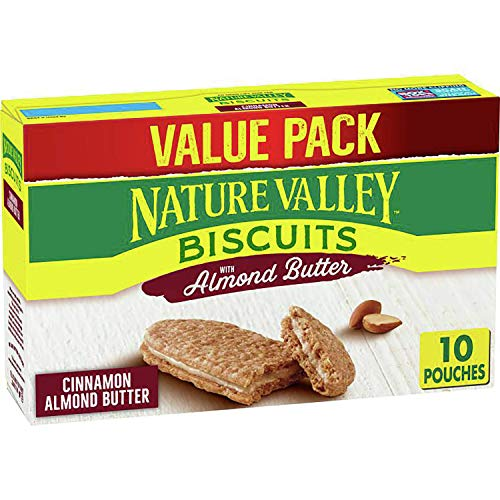 Nature Valley Biscuits, Almond Butter Breakfast Biscuits w/ Nut Filling, 13.5 oz
